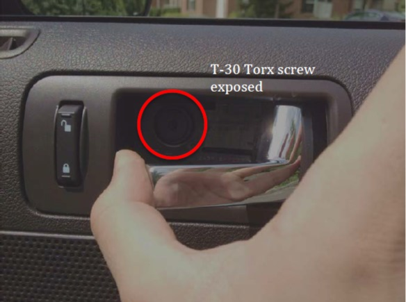How To Install An Interior Door Handle On Your 2005 2014 Mustang Americanmuscle