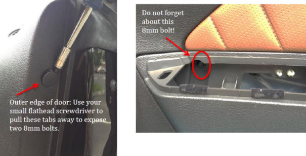 How to install an interior door handle on your 2005 2014 for 07 silverado door panel removal