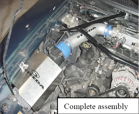 1996 2004 Mustang Gt Steeda Cold Air Intake Installation Guide