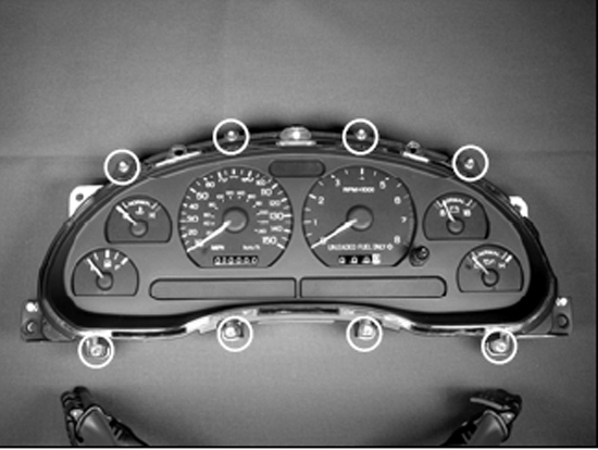 Simco 1996-1998 Mustang Gauge Cluster Installation Guide   AmericanMuscleAmerican Muscle