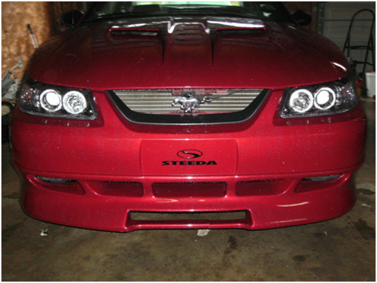 Dual Mustang Halo Projector Headlights Led 99 04 Installation Instructions Americanmuscle