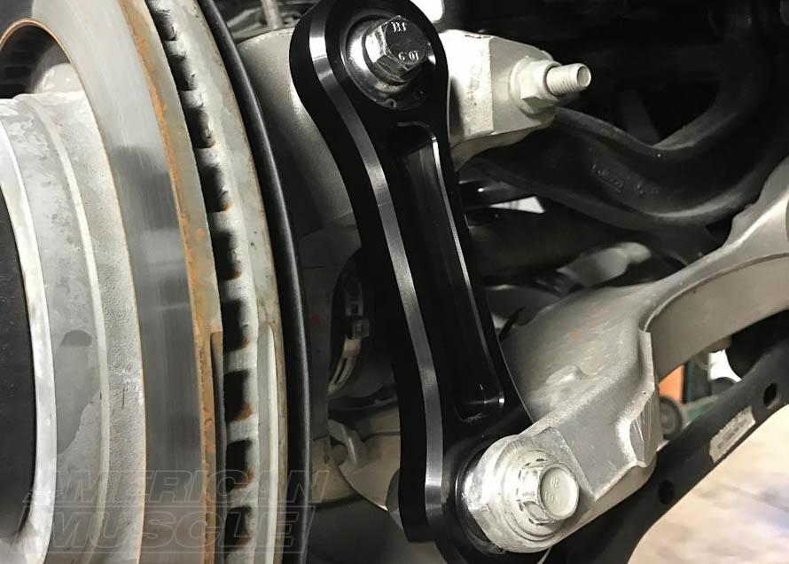 2015-2017 Mustang with Billet Aluminum Vertical Links (Spherical Bushings)
