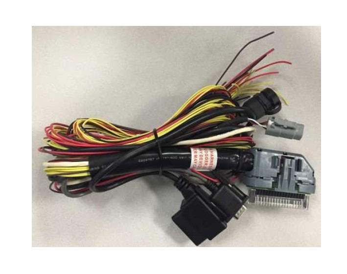How to Install AEM Electronics 96 in. AQ1 OBDII Data Logger ...  Mustang Obd Wiring Harness on