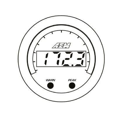 How To Install Aem Electronics X Series Exhaust Temperature Gauge