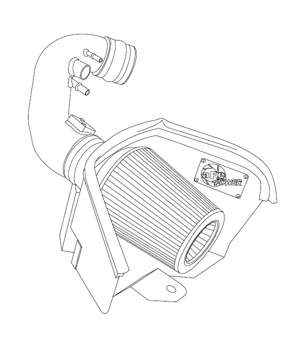 How To Install Afe Magnum Force Stage 2 Pro Dry S Cold Air Intake