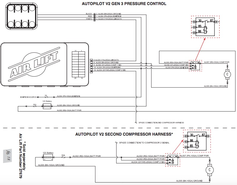 airlift v2 wiring diagram schematics wiring diagrams u2022 rh seniorlivinguniversity co Air Bag System Diagram Peterbilt Air Line Diagram