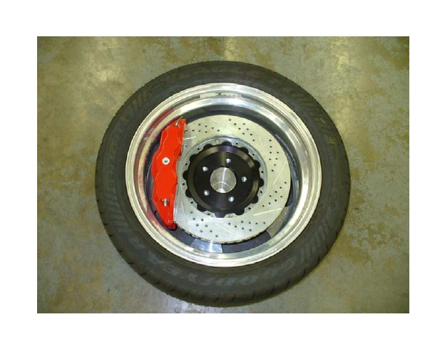 How To Install Baer Track 4 Front Brake Kit Red 94 04 All