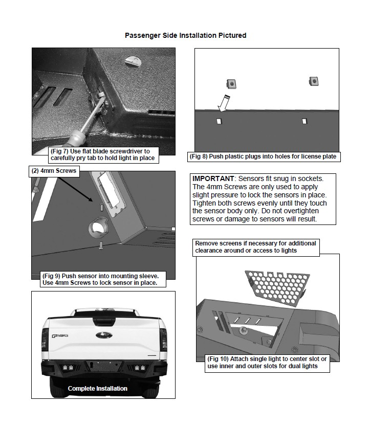 2015 2016 barricade extreme hd rear bumper on your f 150 004 how to install barricade extreme hd rear bumper on your ford f 150  at soozxer.org