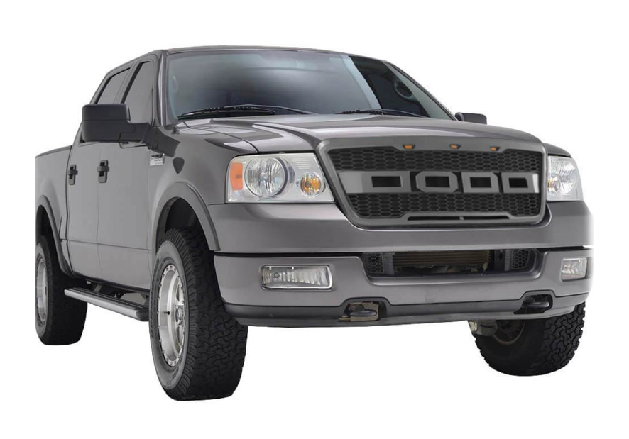 How To Install Barricade Raptor Style Grille Black On
