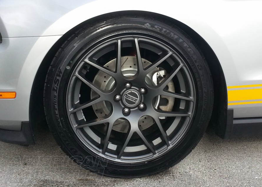 2010-2014 Mustang GT with Big Brakes and Big Wheels