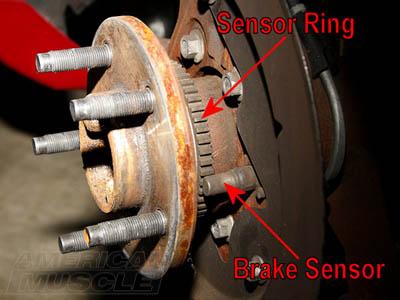 Mustang Brake Sensor Locations