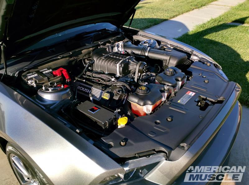 2011-2014 Mustang GT with a Rousch Supercharger