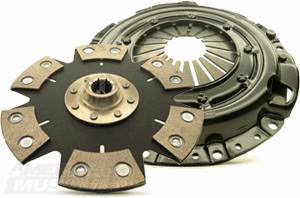 Mustang Clutch Without Torsion Dampeners