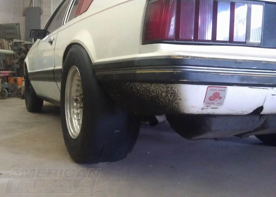 Mickey Thompson 275/60R15 Tires on a Foxbody Mustang