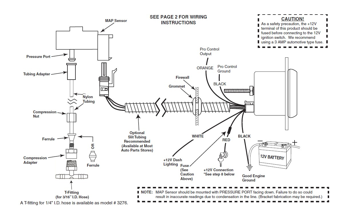 Autometer Electronic Speedometer Wiring Diagram from lib.americanmuscle.com