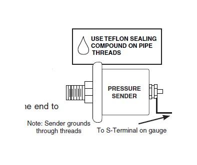 how to install auto meter sport comp ii transmission temp gauge Engine Temp Gauge Wiring Diagram