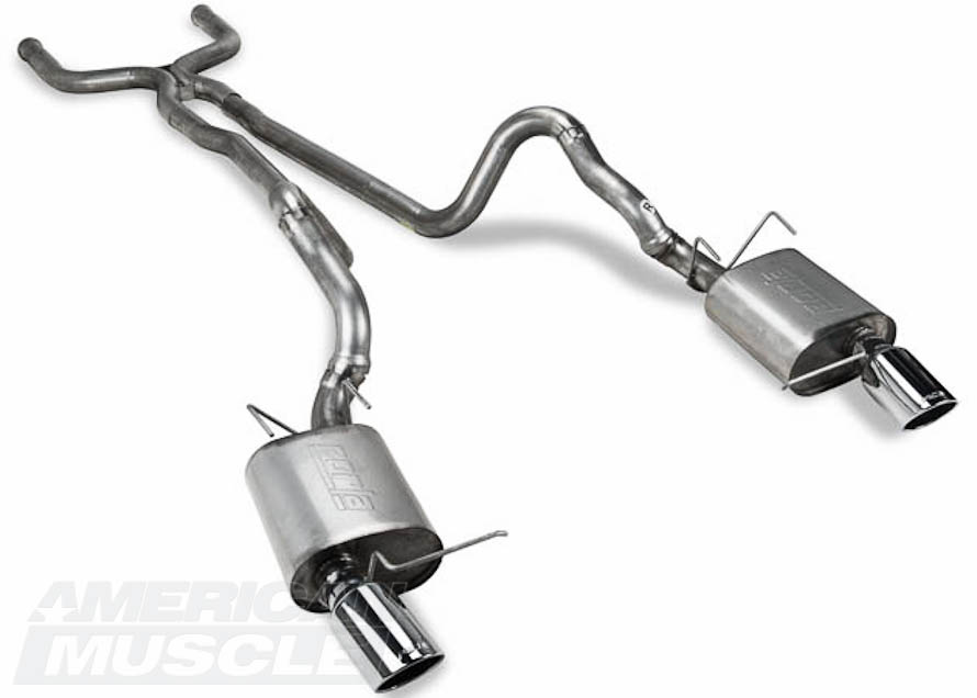 Borla Cat-Back Exhaust with X-Pipe