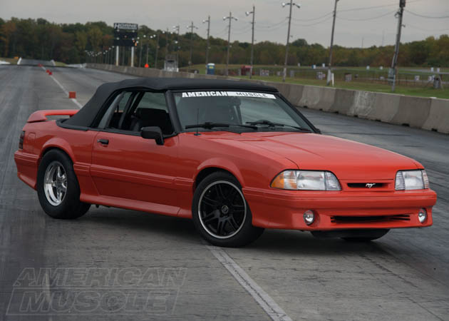 1993 Foxbody Set-Up for Drag Racing
