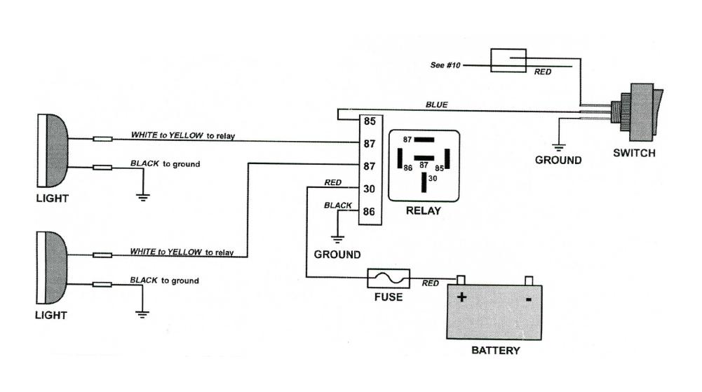 Ford Fog Lights Wiring Diagram : Ford f fog light wiring diagram