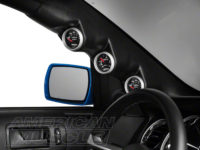 2010-2014 Mustang Triple A-Pillar Gauge Pod