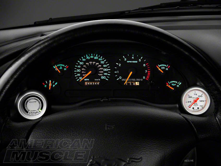 Mustang Instrument Panel Gauges