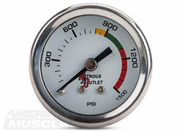 Mustang Nitrous Pressure Gauge