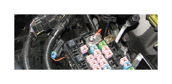 [DIAGRAM_5FD]  How to Install an Edelbrock E-Force Stage 1 Street Supercharger Kit on a  2011 - 2013 GT Mustang   AmericanMuscle   2015 Mustang Fuse Box Ground Wire      American Muscle