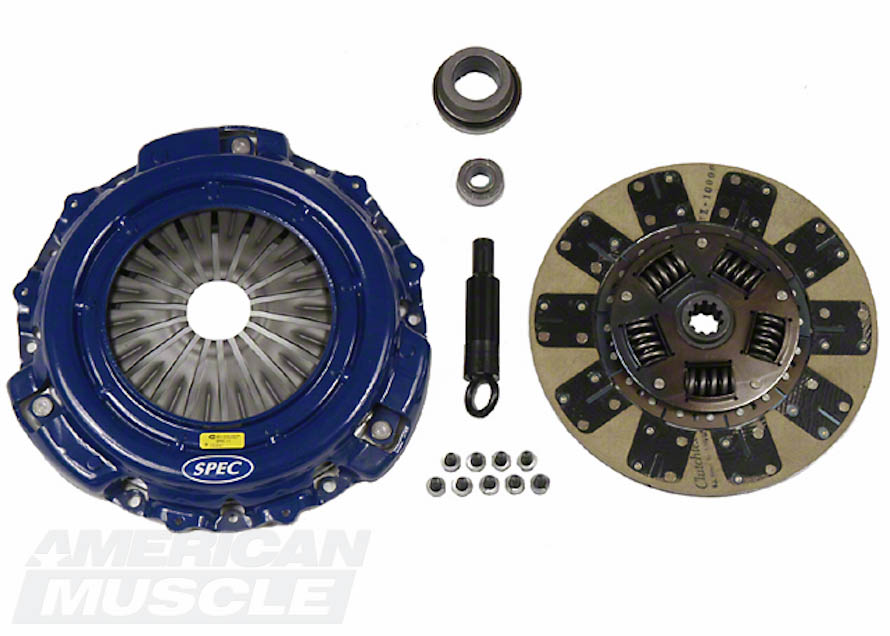 Spec Stage 2 Clutch Kit for 1986 to Mid-2001 GT and 1993-1998 Cobra Mustangs