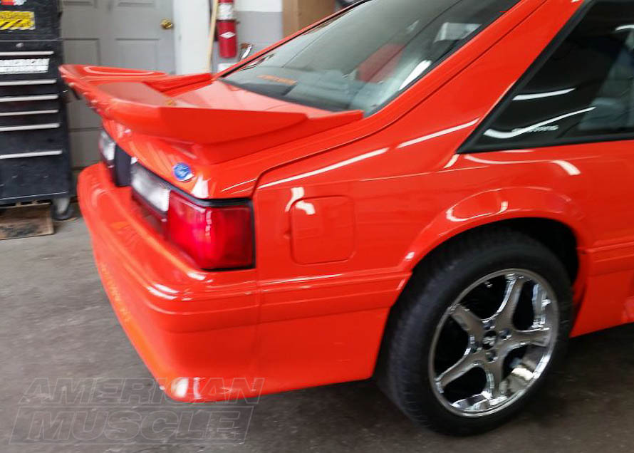 Cervini Saleen Style Rear Wing for 1979-1993 Hatchback Mustangs