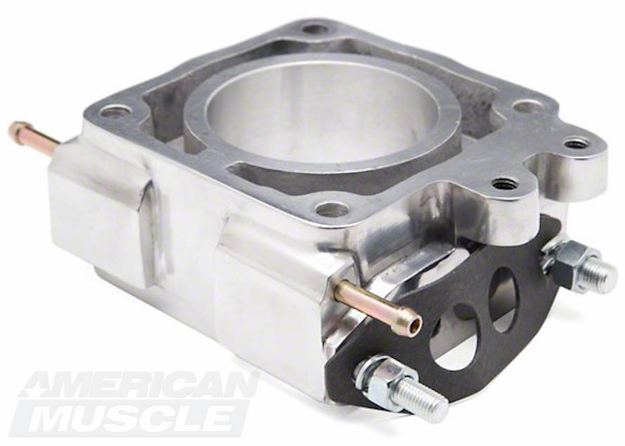 SR Performance 75mm EGR Throttle Body Spacer for 1986-1993 5.0L Mustangs