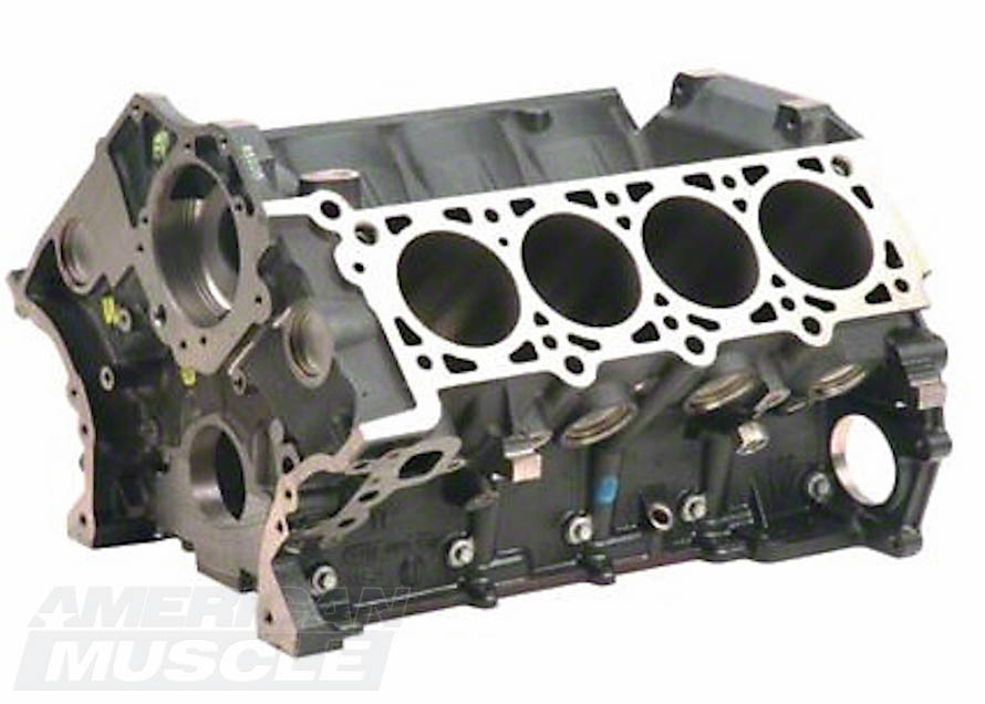 Cast Iron Boss Modular 5.0L Mustang Engine Block