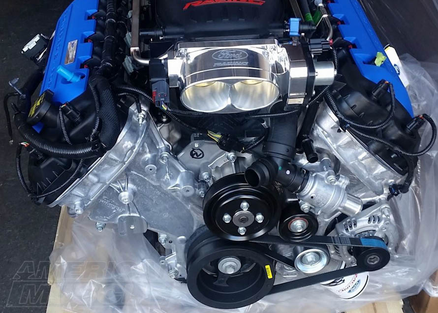 Ford Performance 5 0l 4 Valve Dohc Aluminator Xs Mustang Crate Engine