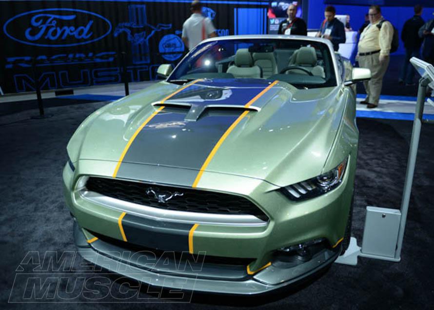 2015 Mustang at the SEMA Show