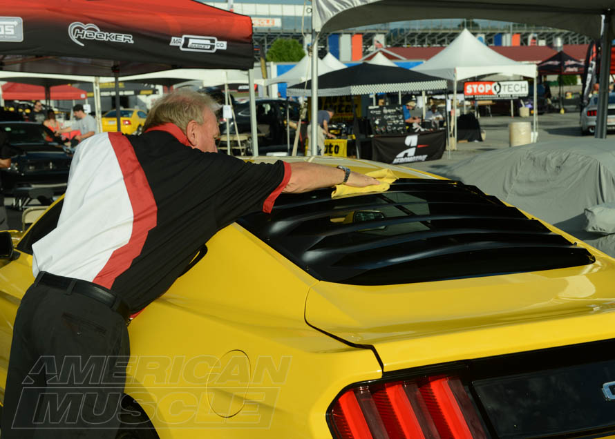 2015-2017 Mustang Getting its Louvers Polished