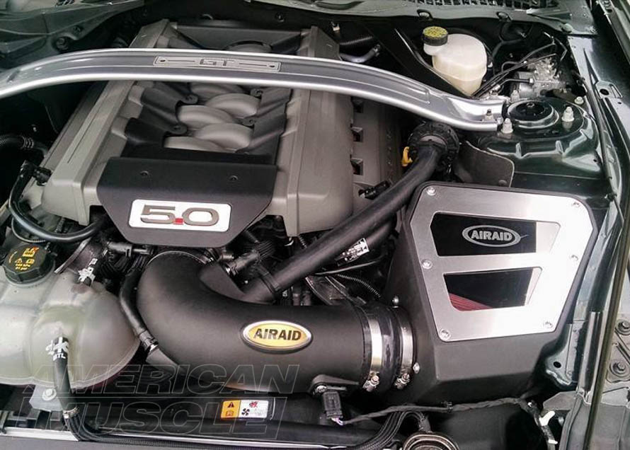 2015-2017 Mustang GT with a Cold Air Intake