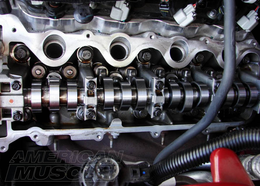Performance Camshafts Installed on a 2005-2010 Mustang GT
