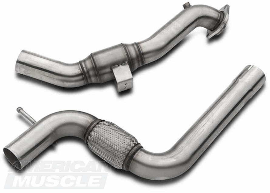 EcoBoost Mustang Catted Downpipe
