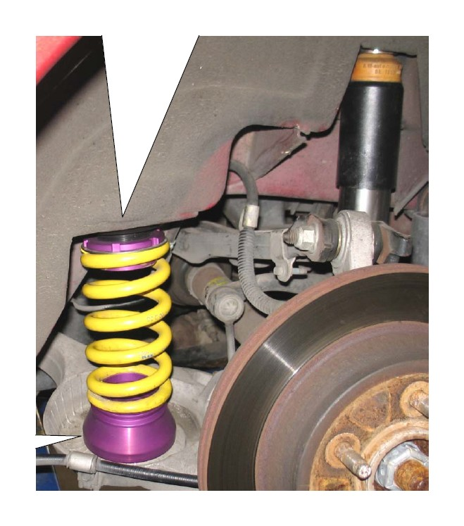 How to Install KW Suspension V3 Coilover Kit (99-04 Cobra) on your