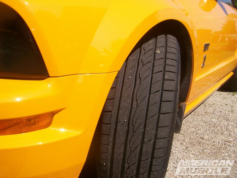 2005-2009 Mustang Front Tire