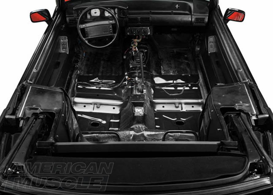 Foxbody Convertible Mustang Floor Pan