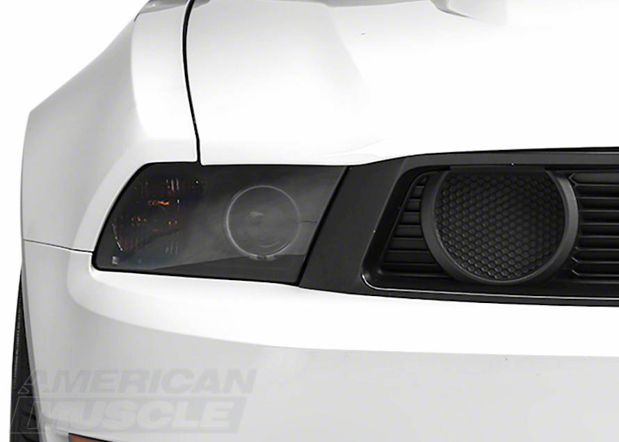 2010-2012 Mustang with Boss Style Fog Light Delete Inserts