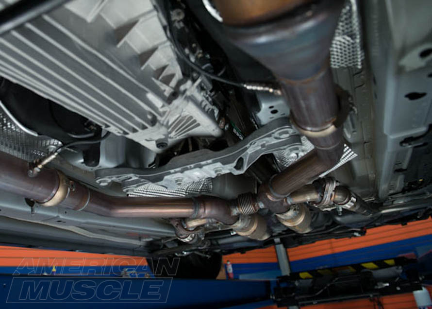 9853eb019b8a10 2014 Project MMD Mustang with H-Pipe and X-Pipe Hybrid System
