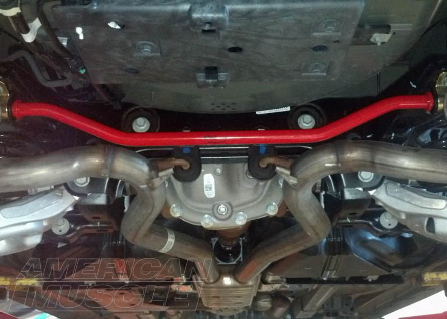 2015-2017 Mustang with Rear Sway Bar
