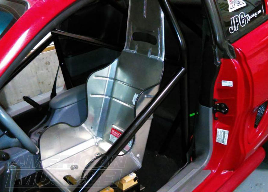 8-Point Roll Cage Installed in a 1994-2004 Mustang Coupe