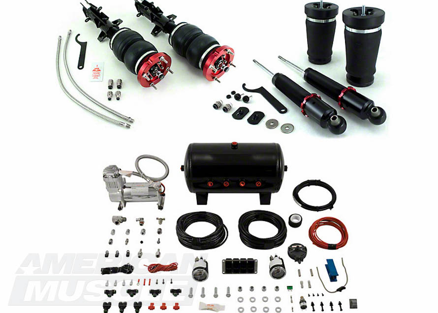 2005-2014 Mustang Air Lift Suspension Kit