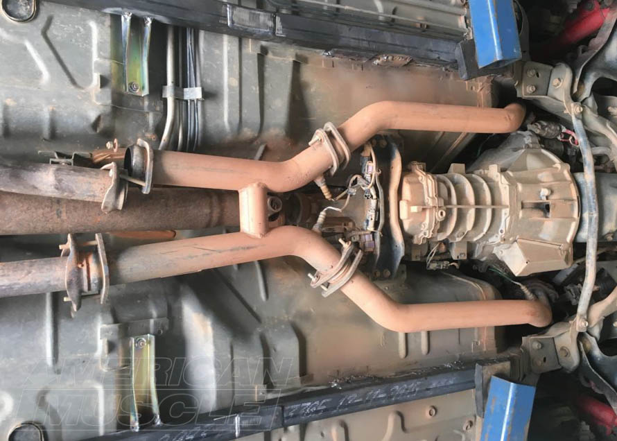1979-2004 Mustang with Welded-In Full Length Subframe Connectors