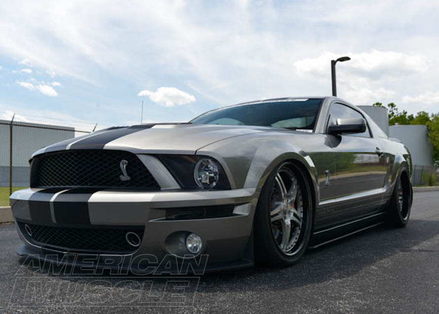 GT500 Mustang Lowered