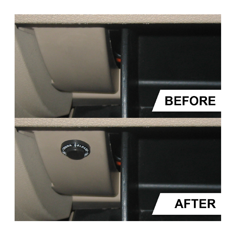 How To Install A Trunk Release On Kit Your 2005 2009