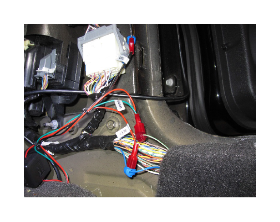 raxiom auto dimming rear view mirror w 3.5in display and camera in your 2005 2014 17 how to install a raxiom auto dimming rear view mirror w 3 5in 2015 Mustang Wiring Diagram Lighting at bakdesigns.co