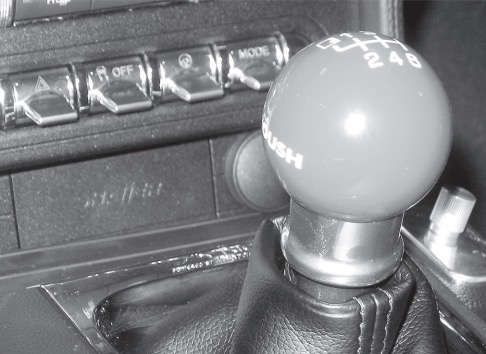 how to install roush 6 speed shift knob black on your 2015 ford